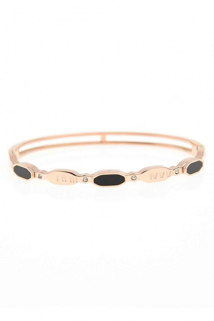 Oval Steel Bracelet (St) - Thumbnail
