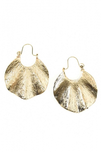 Oyster Ring Earrings (St) - Thumbnail