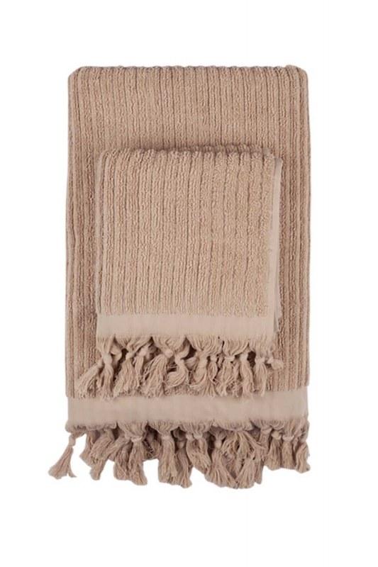 Cotton Towel (45X90) (Camel)