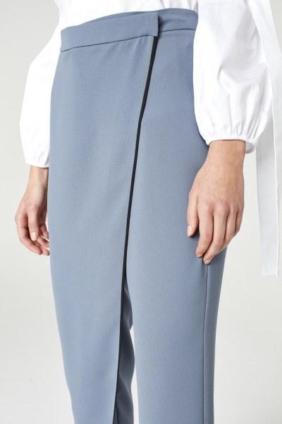 Trouser Skirt (Indigo) - Thumbnail