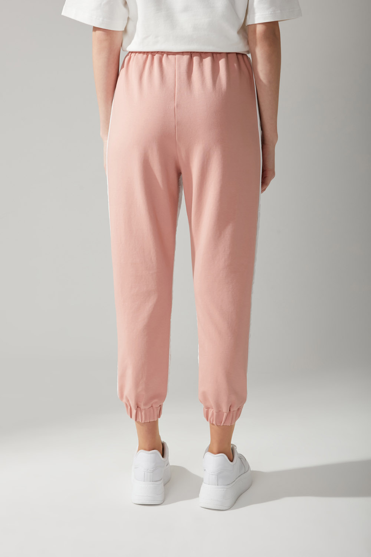 Paraşüt Kumaş Nude Pantolon