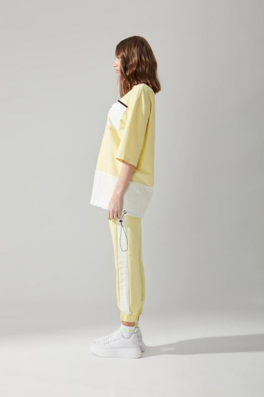 Cepli Sarı Sweatshirt
