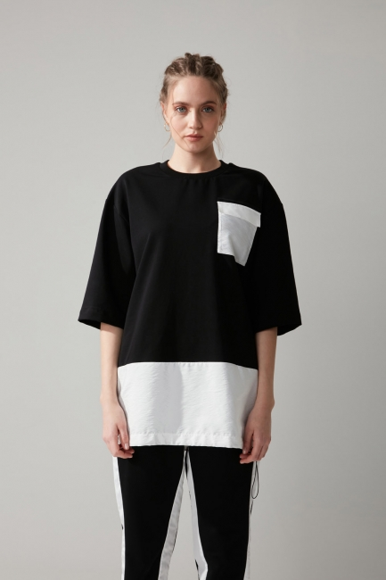 Cepli Siyah Sweatshirt - Thumbnail