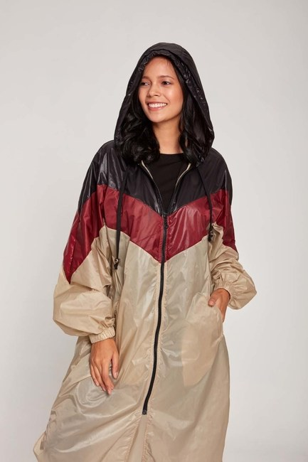 MIZALLE - Raincoat (Beige) (1)