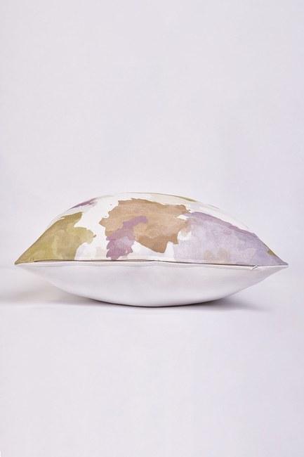 MIZALLE HOME - غطاء وسادة منقوشة 45x45 (اللون) (1)
