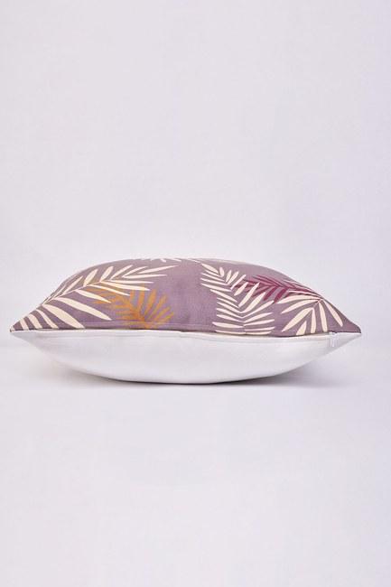 MIZALLE HOME - غطاء وسادة منقوشة 45x45 (ورقة) (1)