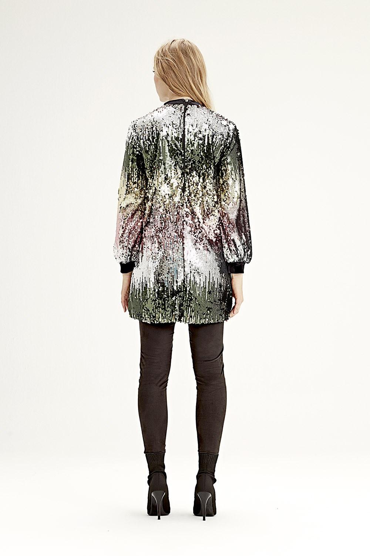 MIZALLE Sequined Dress (Multi) (1)