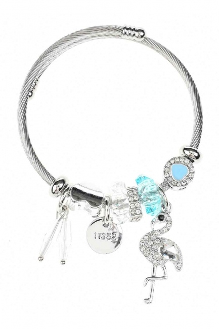 Pelican Detailed Bracelet (Blue) - Thumbnail