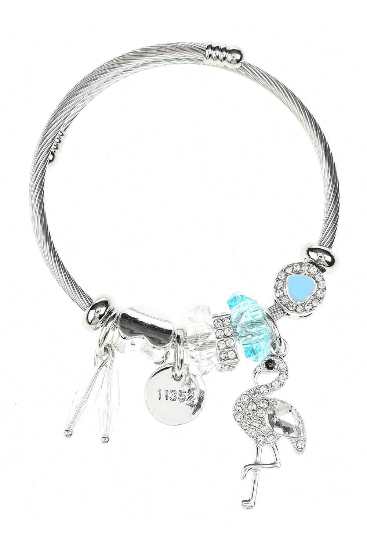 MIZALLE Pelican Detailed Bracelet (Blue) (1)