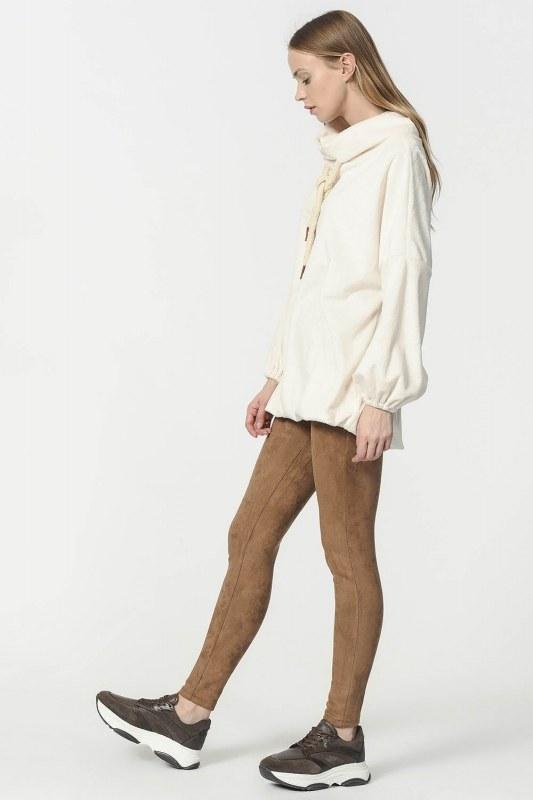 Peluş Sweatshirt (Ekru) 4801