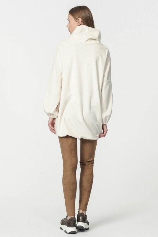 Peluş Sweatshirt (Ekru) 4802