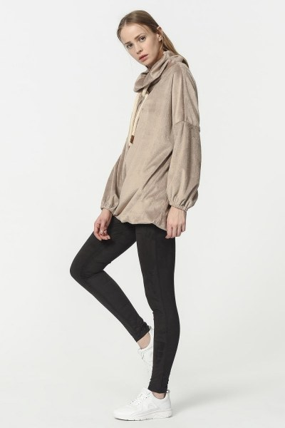 Plush Sweatshirt (Mink) - Thumbnail