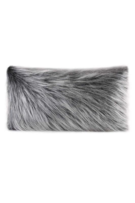 Plush Fur / Grey Pillow Case (35X60)