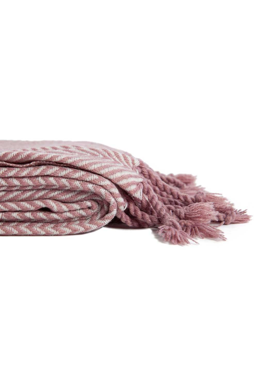 MIZALLE Pink Seat Shawl (130X170) (1)