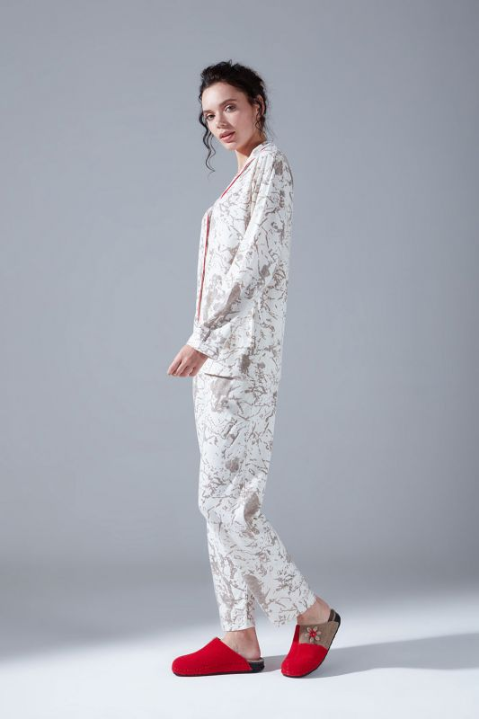 Penye Pijama Takımı (Desenli)