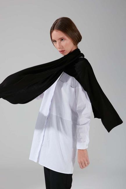 Mizalle - Penye Şal (Siyah)