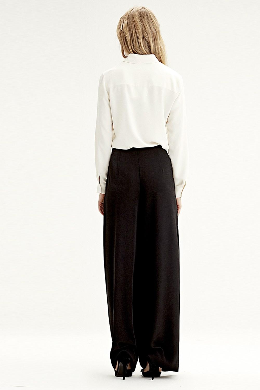 Pileli Pantolon (Siyah)