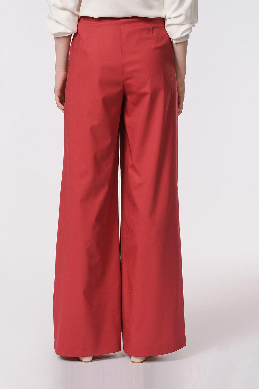 Pileli Premium Pantolon (Kiremit)