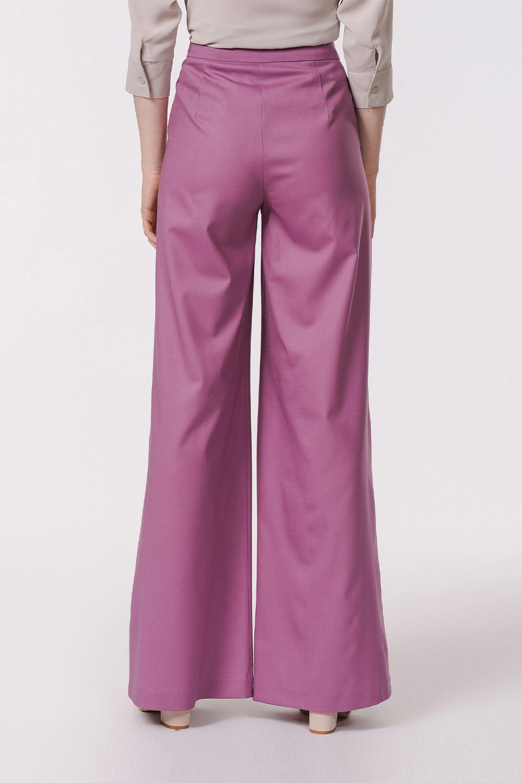 Pileli Premium Pantolon (Lila)