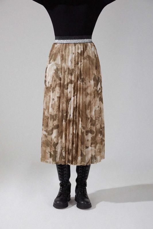Piliseli Batik Etek (Haki)