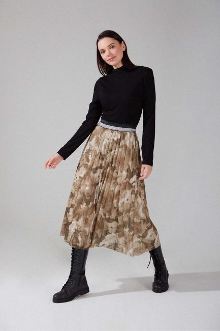 Piliseli Batik Etek (Haki) - Thumbnail