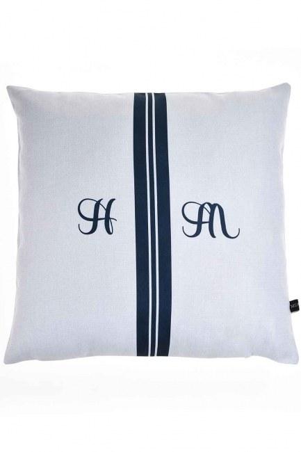 Pillow Case (Navy Blue Stripe) - Thumbnail