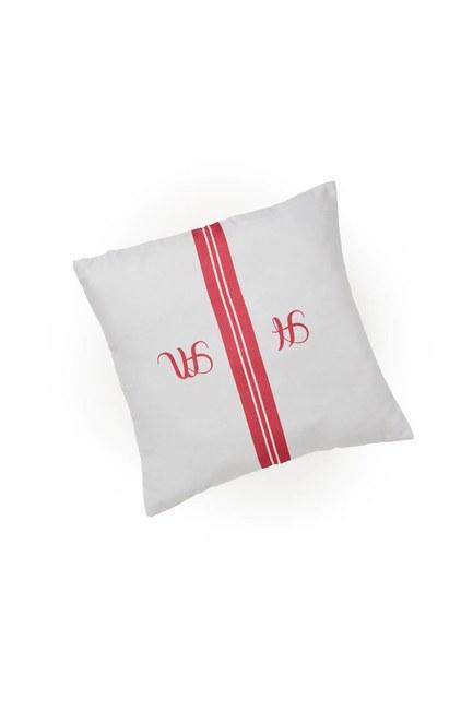 Pillow Case (Red Stripe) - Thumbnail