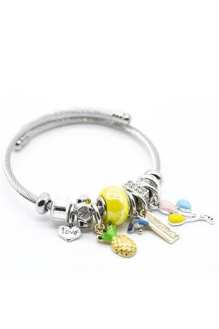 MIZALLE Pineapple Bracelet (Yellow)