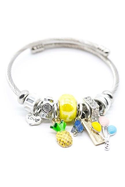 MIZALLE Pineapple Bracelet