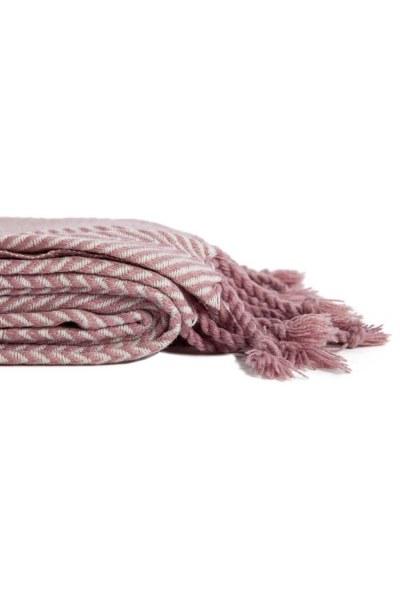 MIZALLE HOME - شال المقعد الوردي (130x170) (1)