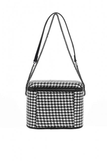 Box Shoulder Bag (Black) - Thumbnail