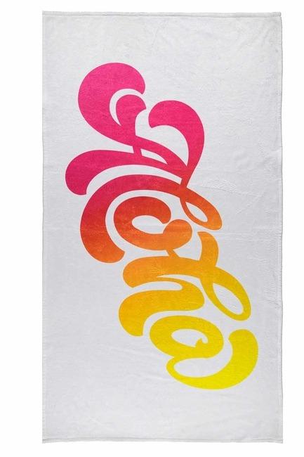 MIZALLE - منشفة الشاطئ (منقوشة) (1)