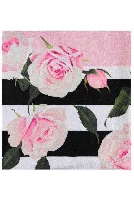 MIZALLE - Beach Towel (Roses) (1)