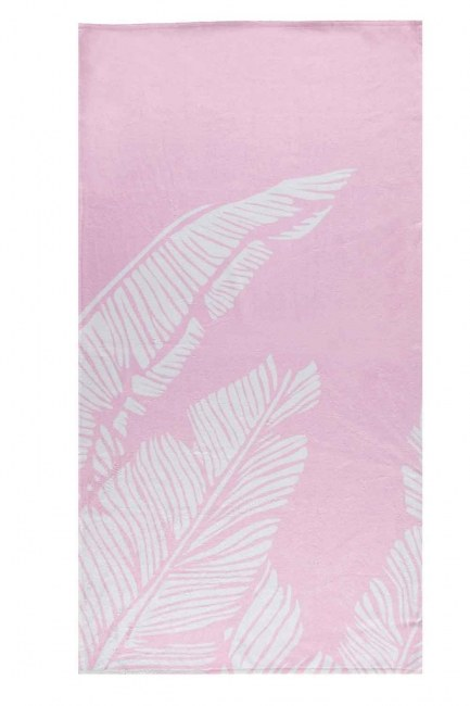 MIZALLE HOME - منشفة الشاطئ (الوردي) (1)