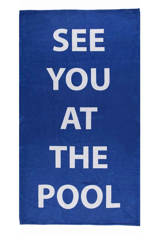 MIZALLE Beach Towel (Pool) (1)