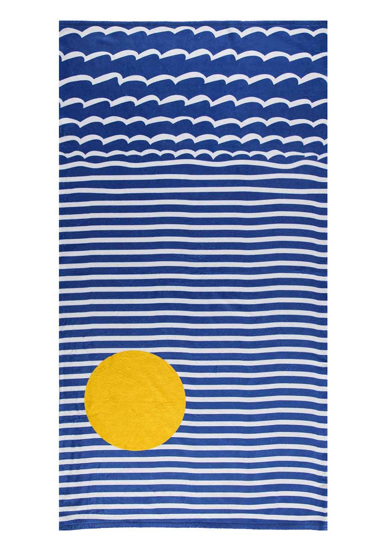 MIZALLE Beach Towel (Beach) (1)