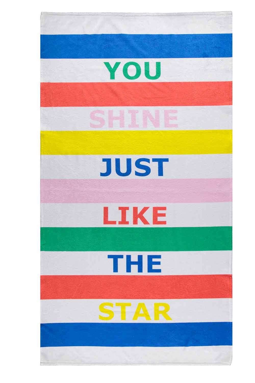 MIZALLE Beach Towel (Star) (1)