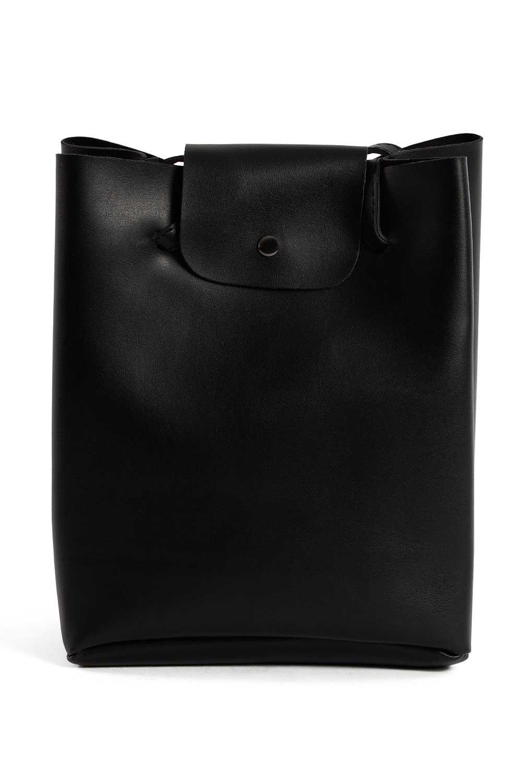 MIZALLE Pompon Detailed Square Shoulder Bag (Black) (1)