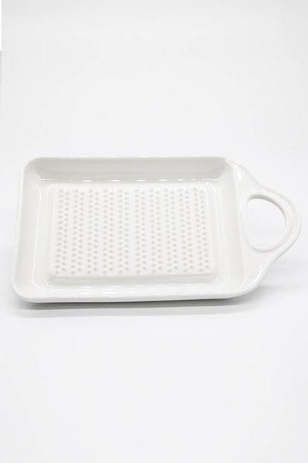 MIZALLE HOME - Porcelain Grater (White) (1)