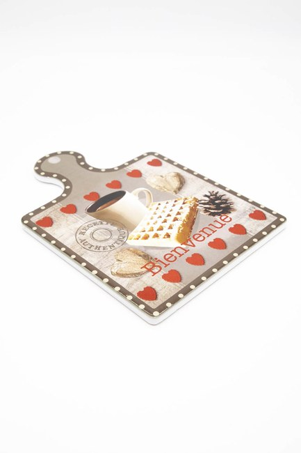 MIZALLE HOME - Porcelain Trivet (Coffee) (1)