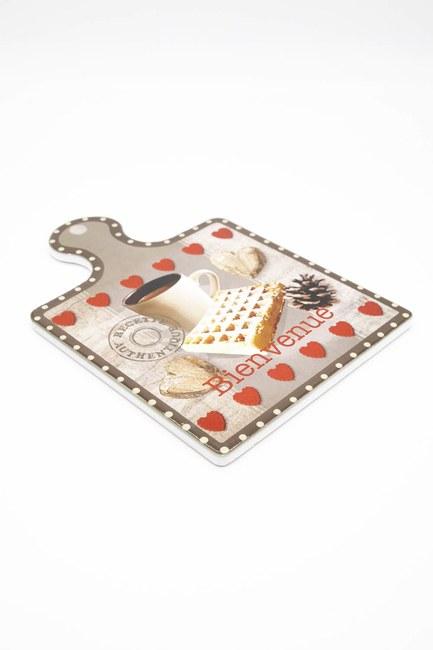 MIZALLE HOME - Porcelain Trivet (Coffee) (1)