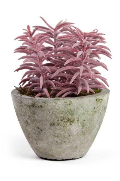 MIZALLE HOME زهور اصطناعية بوعاء (15x15x18)