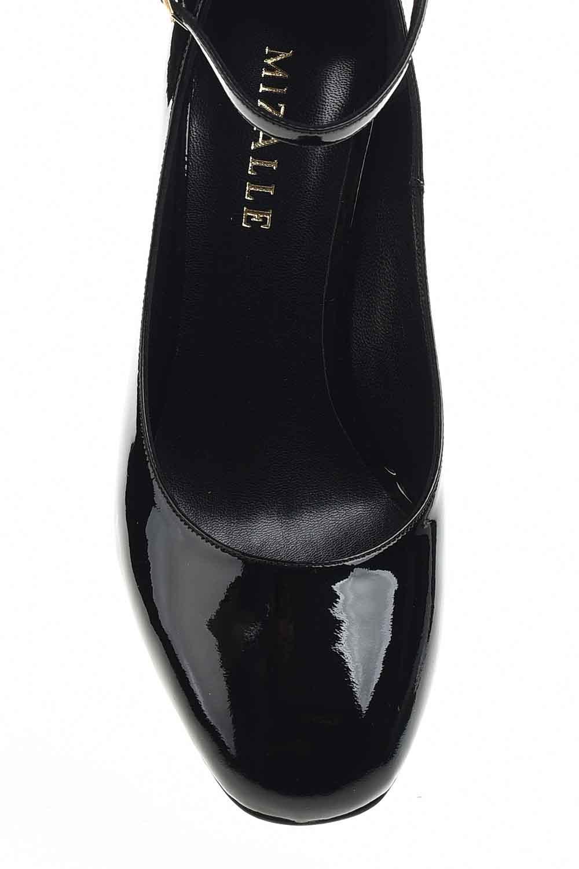 MIZALLE Premium Tokalı Ayakkabı (Siyah) (1)