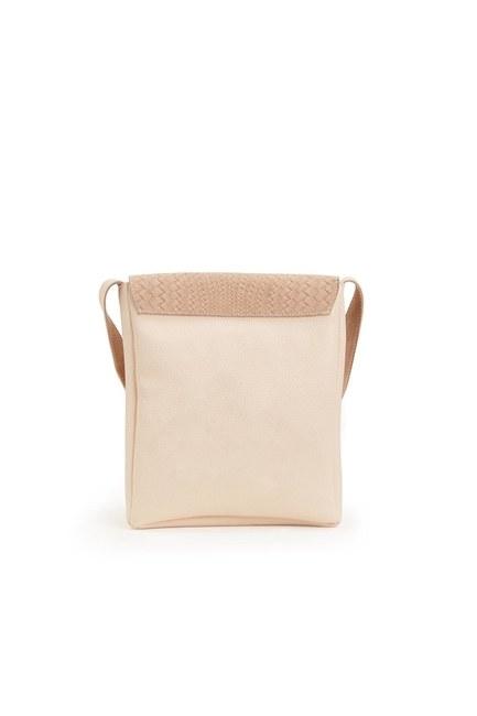 Tassel Shoulder Bag (Beige) - Thumbnail