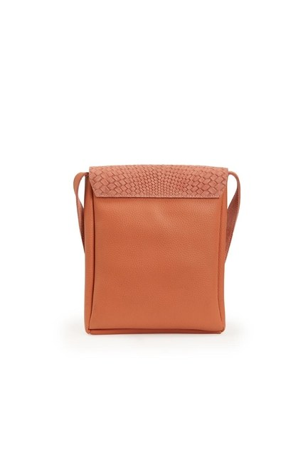 Tassel Shoulder Bag (Salmon) - Thumbnail