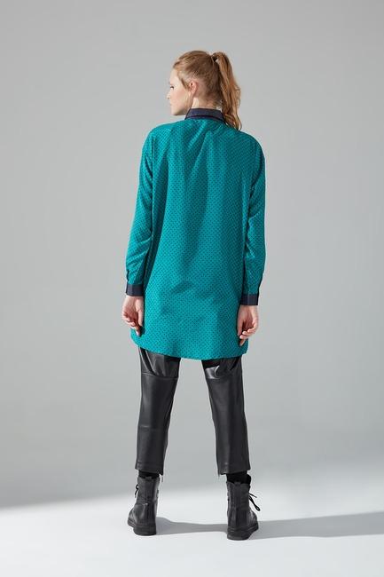 Rahat Kalıp Gömlek (Yeşil) - Thumbnail