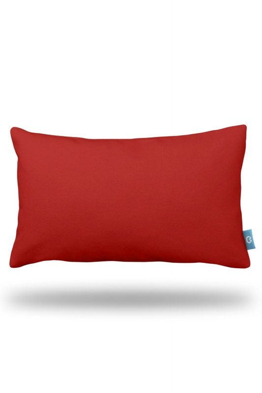 Red Decorative Pillow Case (33X57)