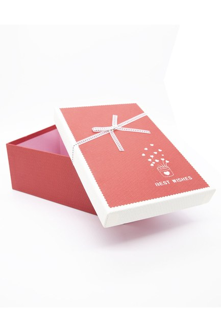 Mizalle Home - Red Rectangular Box (23X16) (1)