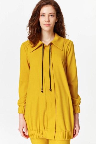 Regular Collar Jacket (Saffron) - Thumbnail