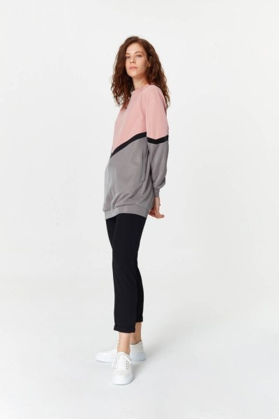 MIZALLE - Colorful Sweatshirt (Mix) (1)